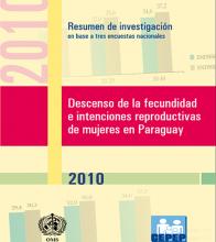 Descenso de la Fecundidad 2010