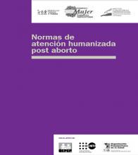 Normas de atencion humanizada pos aborto